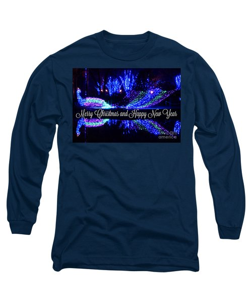 Merry Peacock Long Sleeve T-Shirt