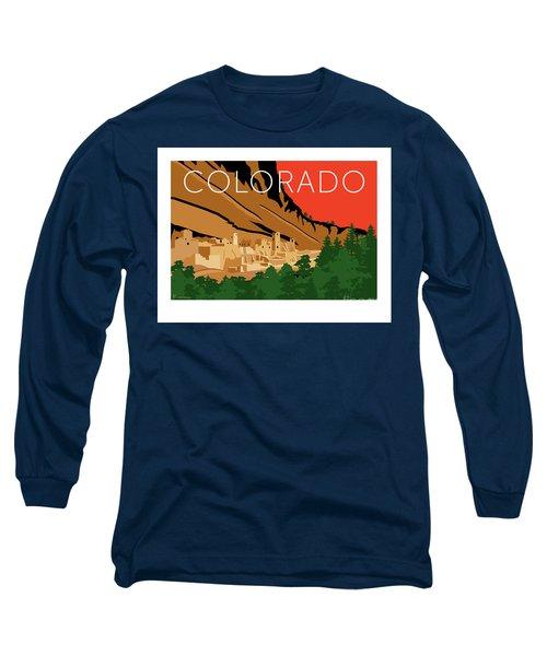 Mesa Verde Orange Long Sleeve T-Shirt