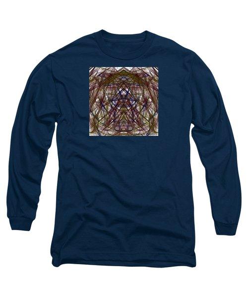 Mesmerizing Spirit Abstract Long Sleeve T-Shirt