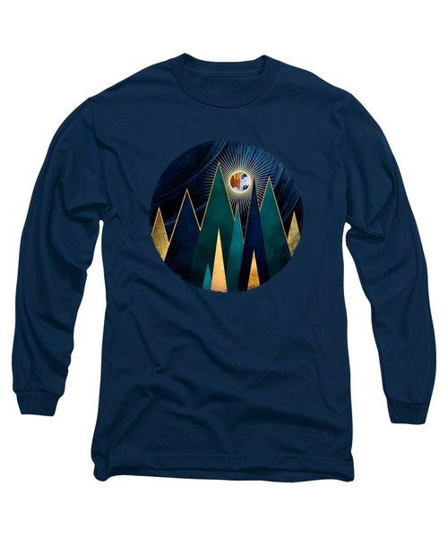 Metallic Peaks Long Sleeve T-Shirt