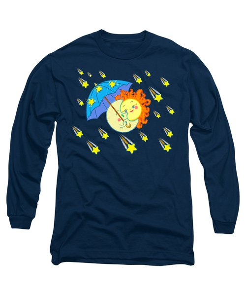 Meteor Shower Long Sleeve T-Shirt