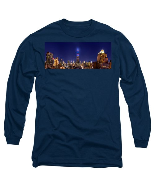 Mets Dominance Long Sleeve T-Shirt by Az Jackson