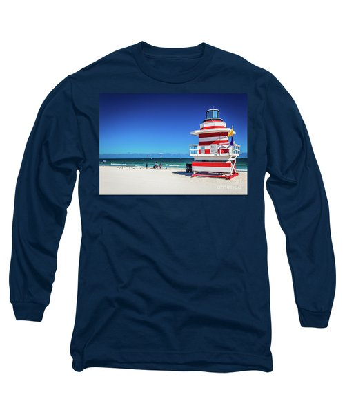 Miami Beach Lifeguard 4463 Long Sleeve T-Shirt