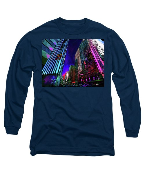 Michigan Avenue, Chicago Long Sleeve T-Shirt