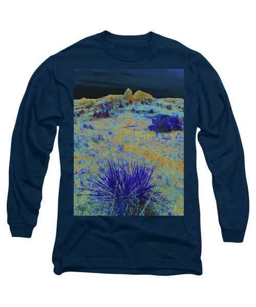 Midnight At The Burning Coal Vein Long Sleeve T-Shirt