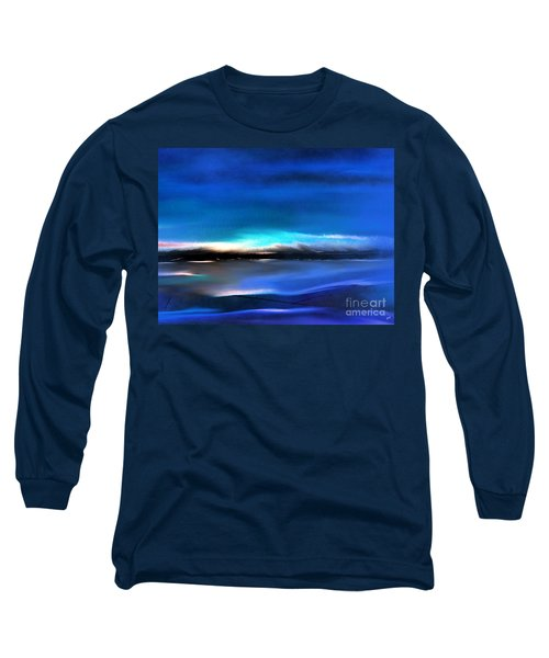 Midnight Blue Long Sleeve T-Shirt