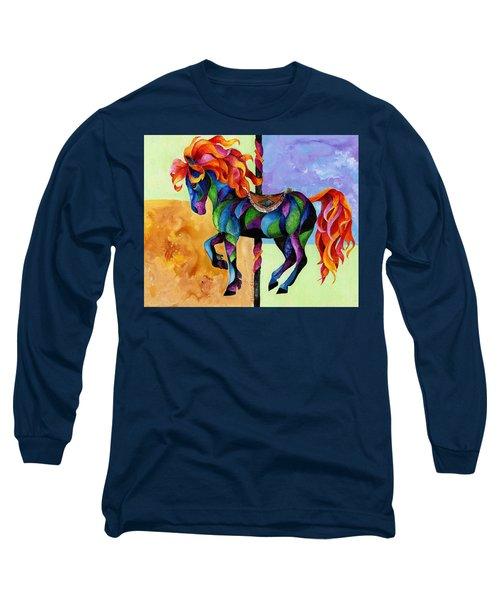 Midnight Fire Long Sleeve T-Shirt