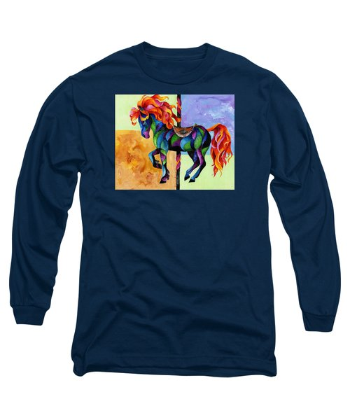 Midnight Fire Long Sleeve T-Shirt