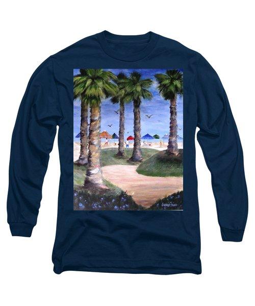 Mike's Hermosa Beach Long Sleeve T-Shirt