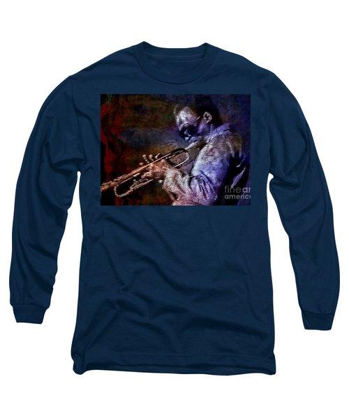 Miles Davis Jazz Legend 1969 Long Sleeve T-Shirt