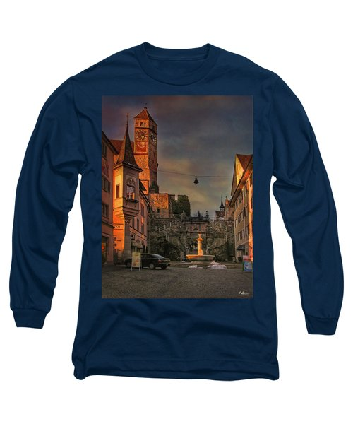 Long Sleeve T-Shirt featuring the photograph Main Square by Hanny Heim