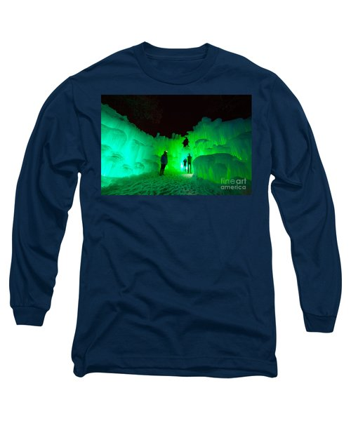 Ice Castles Of Minnesota Long Sleeve T-Shirt