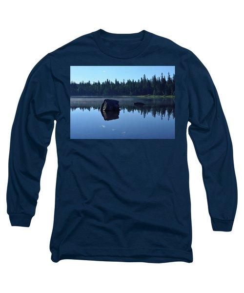 Misty Summer Morning Long Sleeve T-Shirt