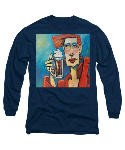 Mocha Double Shot Long Sleeve T-Shirt
