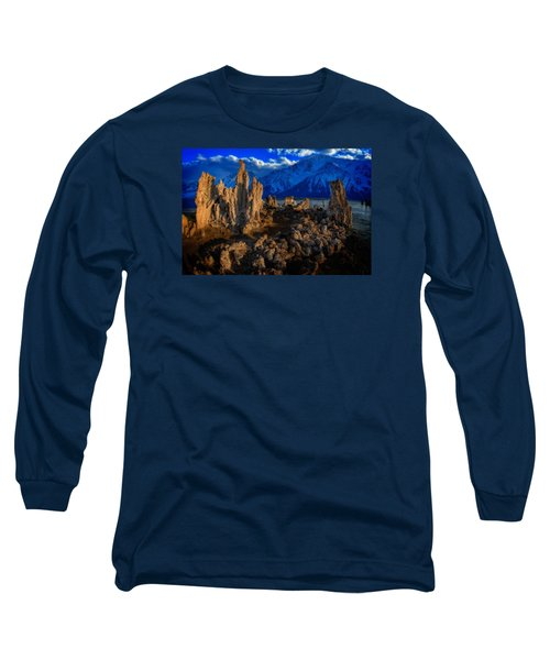 Long Sleeve T-Shirt featuring the photograph Mono Lake by Harry Spitz
