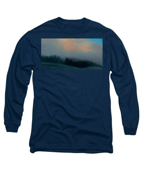 Long Sleeve T-Shirt featuring the photograph Mont Tremblant Vista by Jim Vance