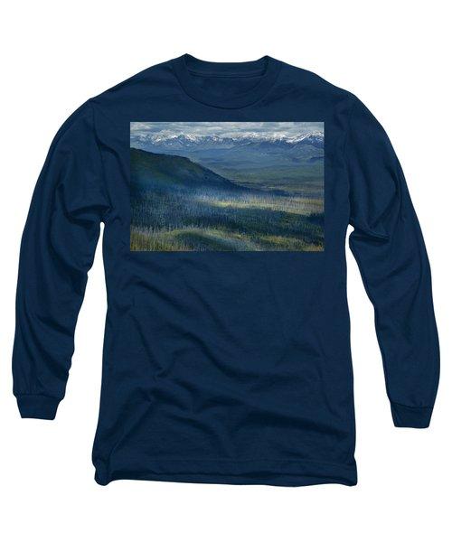 Montana Mountain Vista #3 Long Sleeve T-Shirt