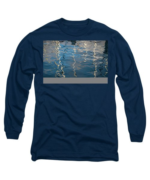 Long Sleeve T-Shirt featuring the photograph Monterey Reflection I Color by David Gordon