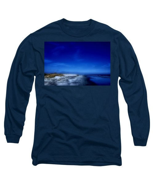 Mood Of A Beach Evening - Jersey Shore Long Sleeve T-Shirt