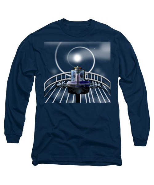 Moon Fountain Long Sleeve T-Shirt