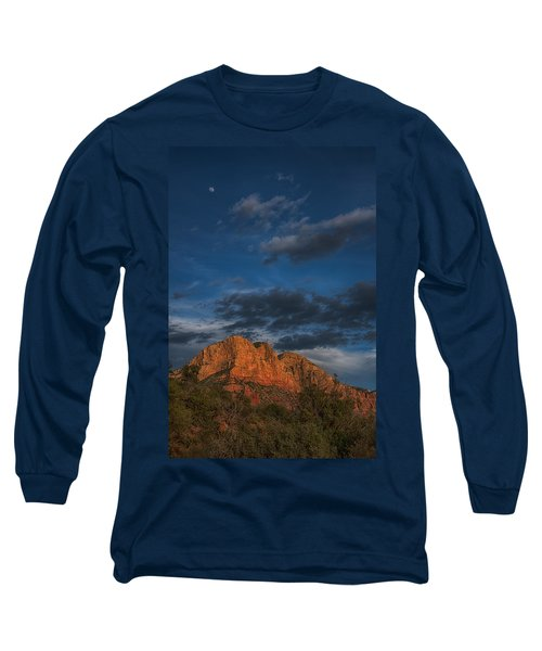 Moon Over Sedona Long Sleeve T-Shirt
