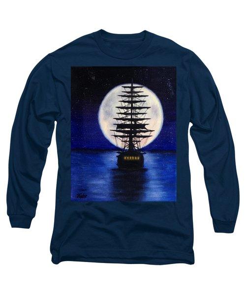 Moon Voyage Long Sleeve T-Shirt