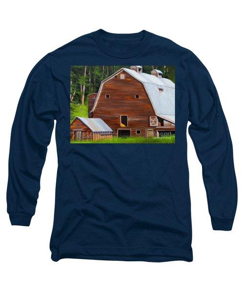 Mooney's Barn Long Sleeve T-Shirt