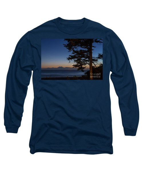 Moonlight At The Beach Long Sleeve T-Shirt