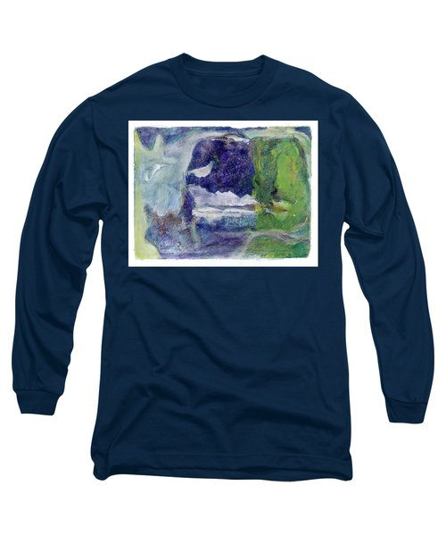 Moonlight Mountain Long Sleeve T-Shirt