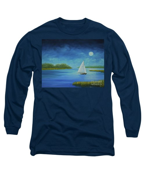 Moonlight Sail Long Sleeve T-Shirt
