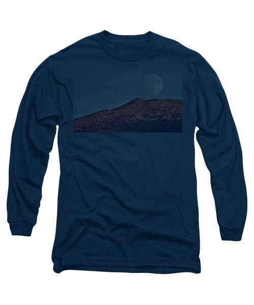 Moonrise Mount Adams Long Sleeve T-Shirt