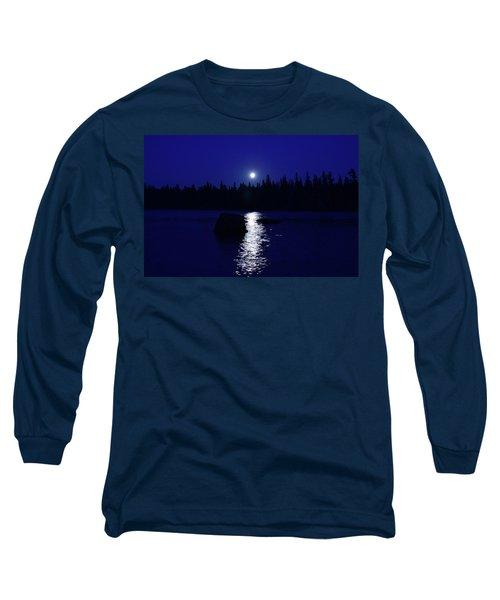 Moonrise On A Midsummer's Night Long Sleeve T-Shirt