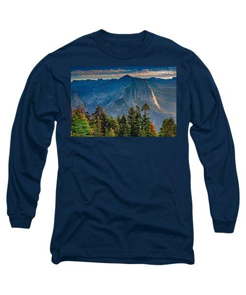 Morning At Half Dome Long Sleeve T-Shirt