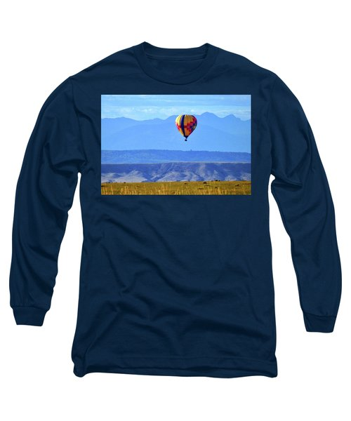 Morning In Montana Long Sleeve T-Shirt by C Sitton