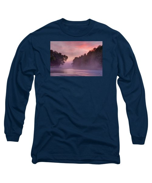Morning Mist Long Sleeve T-Shirt by Robert Charity