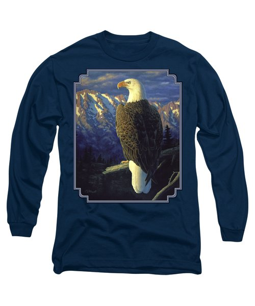 Morning Quest Long Sleeve T-Shirt by Crista Forest
