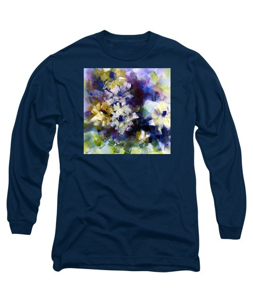 Long Sleeve T-Shirt featuring the painting Mothers Day by Katie Black