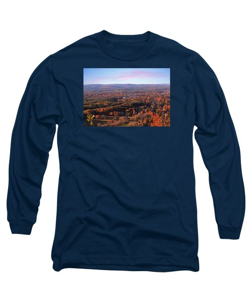 Mount Tom View, Easthampton, Ma Long Sleeve T-Shirt