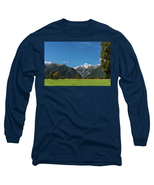Long Sleeve T-Shirt featuring the photograph Mountain Landscape by Gary Eason