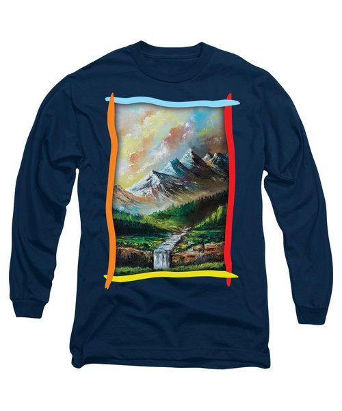 Mountains And Falls Long Sleeve T-Shirt