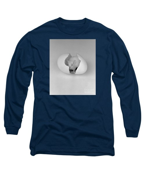 Long Sleeve T-Shirt featuring the photograph Mouse House by Michael Swanson