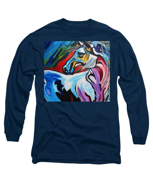 Mr Gorgeous Long Sleeve T-Shirt by Nora Shepley