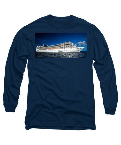 Msc Poesia Long Sleeve T-Shirt by Christopher Holmes