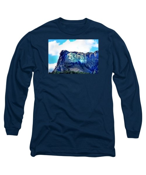 Mt. Rushmore - Presidents Long Sleeve T-Shirt