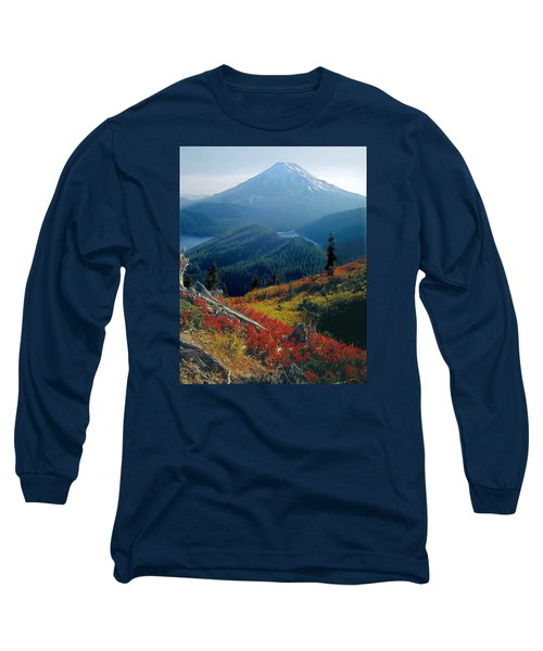 1m4903-mt. St. Helens 1975  Long Sleeve T-Shirt