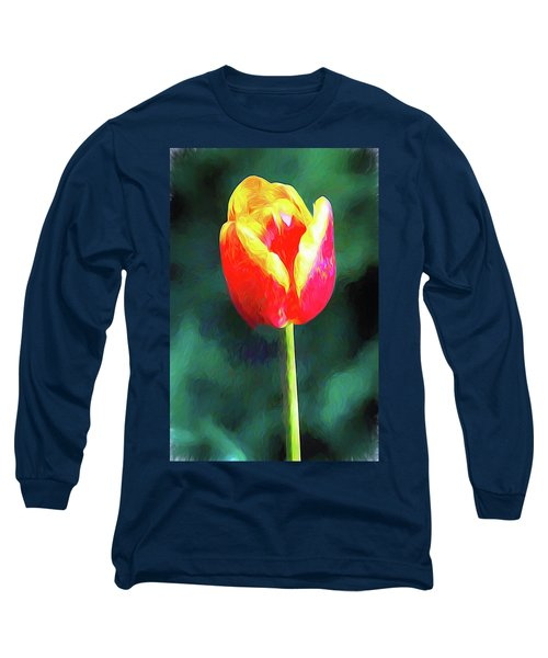 Mt Vernon Tulip Long Sleeve T-Shirt