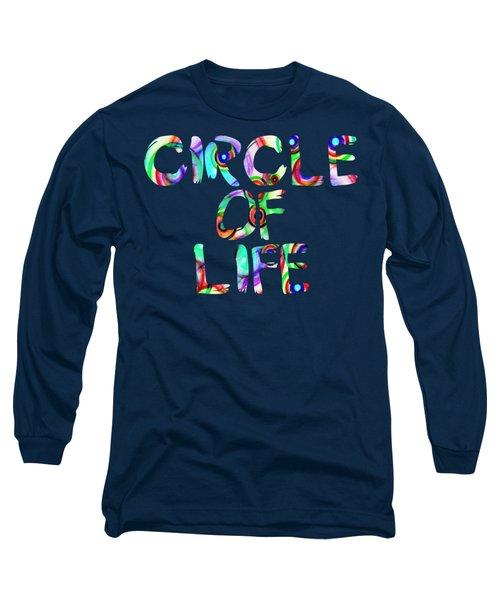 Multi Geo Colors Long Sleeve T-Shirt