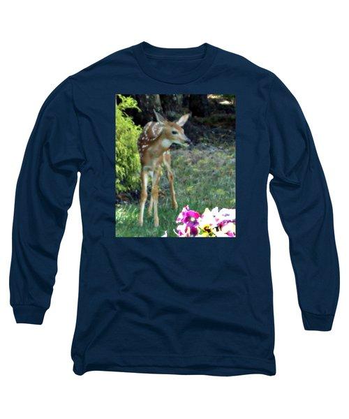 My Deer Friend...... Long Sleeve T-Shirt