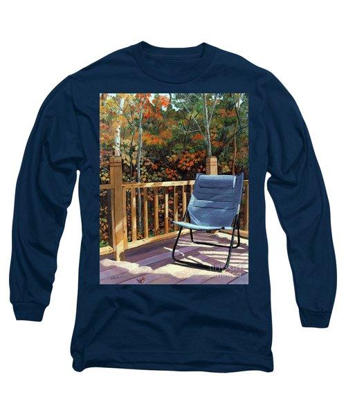 My Favorite Spot Long Sleeve T-Shirt by Lynne Reichhart