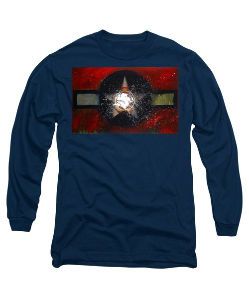 Long Sleeve T-Shirt featuring the painting My Indian Red by Charles Stuart